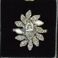 Marquise VVS1 Fine Diamond Engagement Rings