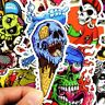 50pcs /lot Car Sticker Decal Vinyl Roll Skate Skateboard Laptop Luggage Skull