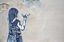 Motiv Little Girl  XXL150x100 Leinwand 2 cm Pop Art/Malerei/Druck/Bild/Urban