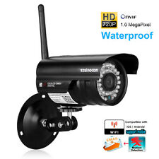 720P HD Waterproof Wireless CCTV NVR Home Security WiFi IP Camera Onvif Outdoor