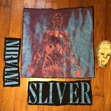 Original Nirvana Sliver Incesticide 90s vintage t shirt Cut out patches