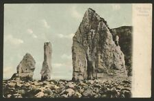 Dorset. Swanage. Old Harry Rocks. 1905 Posted F.G.O Stuart Postcard #912