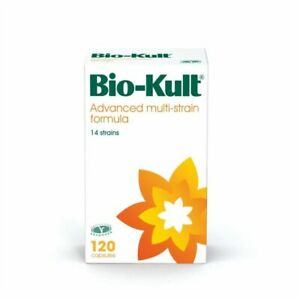 Bio-Kult Advanced Probiotic Multi-Strain Formula 120 Capsules - NEW