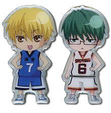**License** Kuroko no Basuke Basketball SD Kise & Midorima Pin Set #50154