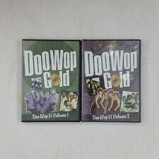 DOO WOP GOLD 51 Vol 1 & 51 Vol 2 DVD Lot Of 2