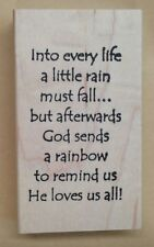 Mounted Rubber Stamps, Christian Stamps, Sayings & Quotes, Noahs Ark, Rainbows