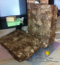 32 Oz / 2lb  Pure Raw African Black Soap from Ghana - Grade A Natural Handmade