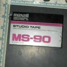 sealed Maxell MS-90 Professional Industrial high bias blank cassette