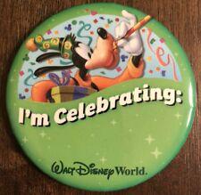 Disney World 3in I'm Celebrating Goofy Park Souvenir Collectible Pin