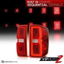 {FULL-LED} 14-18 Chevy Silverado 1500 2500 3500 Sequential Signal LED Tail Light