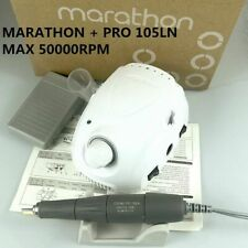 Electric Nail Drill Strong Marathon Champion-3 Handle 45000/50000 Rpm White New
