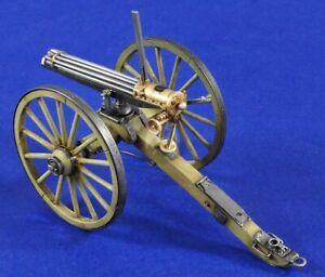 Verlinden 54mm (1/32) Model 1874 Gatling Gun mounted on Field Carriage 2837