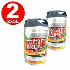 2 x Desperados Bier mit Tequila Partyfass 5 Liter Fass inkl. Zapfhahn 5, 5,94€/L