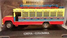 Bus Chiva Colmbia  - Autobuses Del Mundo Luppa Die Cast Toys 1/724