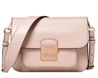 NWT MICHAEL KORS Sloan Editor Large Leather Shoulder Bag Soft Pink ORIGINAL PACK