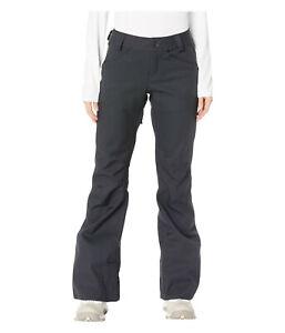 Volcom Species Stretch Womens Snowboard Snow Ski Pants Black Medium XL