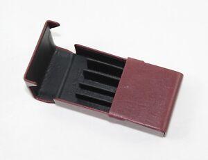 Portasigarette in vera pelle di buffalo slim made in Italy Giorgio Fedon nuovo