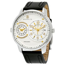 Brooklyn Willoughby Dual Time Swiss Quartz Watch
