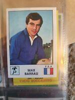 Panini Sport Vedettes Sticker - No 168 Max Barrau (Rugby)