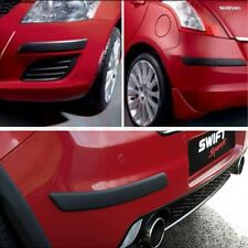 Car Bumper Corner Protector Molding Guard Black:- Swift Dzire, Ciaz, Sx4, Ertiga