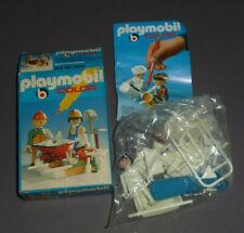 Playmobil Color Set 2 Bauarbeiter mit Zubehör in OVP 3690 MIB