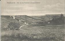 1. Weltkrieg, Bouillonville, Lothringen, Die gesprengte Brücke der Eisenbahn