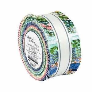 "Kaufman, Nature's Notebook, Roll Up, 2.5"" Fabric Quilting Strips, RU-970-40, J15"