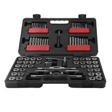 NEW 75-piece Combination Tap and Die Carbon Steel Tool Set SAE Metric VIP