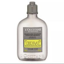 L'Occitane En Provence CEDRAT Men's Purifying Shampoo 8.4 fl oz. New Fresh Clean
