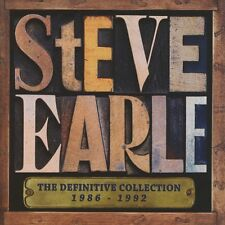 STEVE EARLE: THE DEFINITIVE COLLECTION 1986-1992: 2CD ALBUM SET (July 8th)