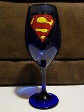 Superman Wine Glass