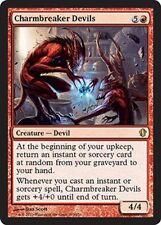 CHARMBREAKER DEVILS NM mtg Commander 2013 Red - Creature Devil Rare