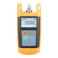 Handheld Fiber Optical Laser Light Source Sm 13101550nm Fiber Optic Equipments
