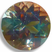 Natural Dichroic Green/Orange Andalusite 2mm-6mm Round Faceted Loose Gemstones