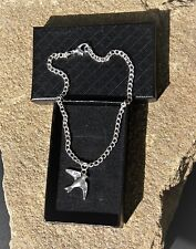 Dove Anklet Ankle Bracelet Handmade Silver Plated Ladies/Girls/Boys