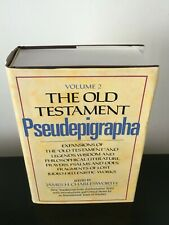 THE OLD TESTAMENT PSEUDEPIGRAPHA. VOL. 2 by J. H. CHARLESWORTH.  ABRF HARDCOVER