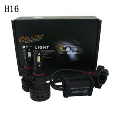 80W 19200LM 5202 H16 9009 CSP LED Lamp Headlight Kits Car Beam Bulb 6000k 12V US