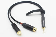 2.5mm Trrs to RCA Female Cable Balanced Headphone Audio Adapter Cable 1FT 0.3M
