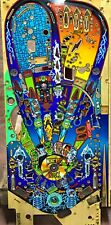 Pinball Monster Bash Williams 1998 Flipper - PLAYFIELD - USED - Cond. 7/10 Mod.1
