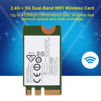 Dual Band Wireless 802.11AC 433Mbps NGFF/M2 Mini WiFi Card for Lenovo Laptops MN