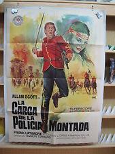 A503 LA CARGA DE LA POLICIA MONTADA ALAN SCOTT FRANK LATIMORE INDIOS
