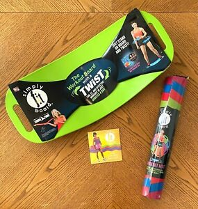 Simply Fit Workout Bundle -The Workout Balance Board with a Twist! New