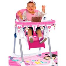 Minnie Mouse 1st Fun to Be One High Chair Decorating Decoration Kit Set