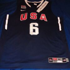 best loved a1076 c9c3f lebron james usa jersey 2012 authentic