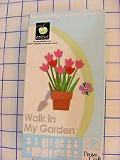 "PROVO CRICUT Cartridge 29-0223, ""Walk in My Garden"" cartridge for Cricut machine"