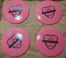 Pink Dynamic Discs Fuzion Raiders 173, 174 and 2 175g drivers
