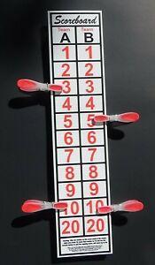 SCOREBOARD, Cornhole Ladder Golf, Lasso, Bean Bag toss, Washers, SCORE UP TO 30