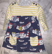 Girls 0-3 Months - Mini Boden Long Sleeved Dress