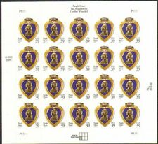 2006 39c Purple Heart, Medal for the Combat Wounded Scott 4032 Mint Sheet of 20