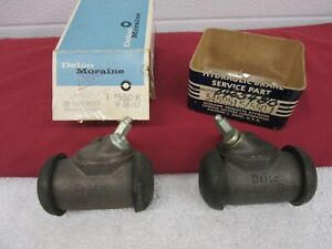 NOS 1960-1964 Chevy 1963-1965 Corvette LH&RH Front Wheel Brake Cylinders   dp